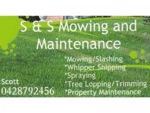 s n s mowing