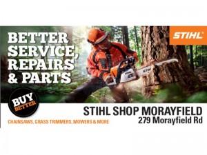 stihl shop morayfield banner